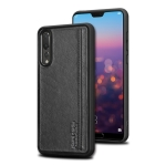 Pierre Cardin PCS-S02 Shockproof TPU + Leather Protective Case for Huawei P20 Pro (Black)