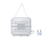 Baseus ACMWD-FB02 Breeze Wall-mounted Bug Zapper,EU Plug (White)