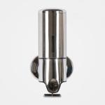 Hotel Shower Manual Dispenser Wall Mounted Washing Liquid Shampoo Soap Bottle, Capacity: 500ml(Stainless Steel)