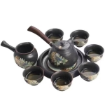 Imitation Ancient Kiln Ceramics Kung Fu Teapot Teacup Set