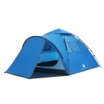 HUILINGYANG Outdoor Automatic Double-layer Rainproof One-bedroom One-bedroom Family Self-driving Camping Tent, Size: (260+110)x220x145cm