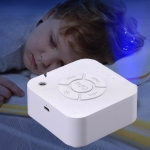 4.2V Chargeable White Noise Sleep Machine with LED Night Light
