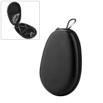 Portable Waterproof Anti-stress Bluetooth Earphone Data Cable Storage Protection Box for Beats X, with Carabiner