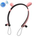 CYKE ZW29C Cartoon Rabbit Ear Shape Stereo Head-mounted Magnet Bluetooth Earphone