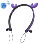 CYKE ZW29A Cartoon Antlers Shape Stereo Head-mounted Magnet Bluetooth Earphone