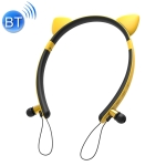 CYKE ZW29 Cartoon Cat Ears Shape Stereo Head-mounted Magnet Bluetooth Earphone