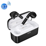 JOYROOM JR-T06 TWS V5.0 Wireless Bluetooth Bilateral Earphones with Charging Case, Support Voice Assistant (Black)