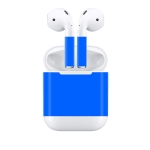 Creative Dazzle Wireless Earphones Charging Box Protective Film Dustproof Sticker for Apple AirPods (Blue)