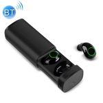 X23 IPX5 Waterproof Bluetooth 5.0 Wireless Touch Bluetooth Earphone with Charging Box, Support HD Call & Siri (Black)