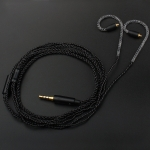 TRN Sports Stereo High Fidelity Auxiliary Upgrade Cable Headphones Cable with MMCX Connection, with Mic
