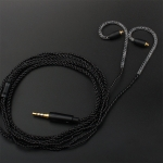 TRN Sports Stereo High Fidelity Auxiliary Upgrade Cable Headphones Cable with MMCX Connection, without Mic