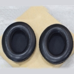 1 Pair Soft Earmuff Headphone Jacket with Black Cotton for BOSE QC2 / QC15 / AE2 / QC25