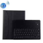 1139B Detachable Bluetooth 3.0 Aluminum Alloy Keyboard + Lambskin Texture Leather Case for iPad Pro 11 inch (2018), with Three-gear Adjustment / Magnetic / Sleep Function (Black)
