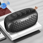 ipipoo YP-6 Outdoor Waterproof IPX45 Hand-held Wireless Bluetooth Speaker, Support Hands-free & FM & TF Card & AUX (Black)