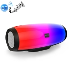 SODO L1 Bluetooth 4.2 Wireless Stereo Desktop Bluetooth Speaker with Flashy Light (Black)
