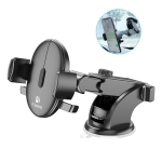 FLOVEME Auto Car 360 Degree Rotation Suction Cup Phone Holder (Black)