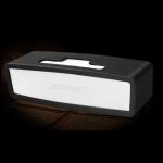 Portable Shockproof Soft Silica Gel Bluetooth Speaker Protective Case for Bose Mini 1 / 2 (Black)