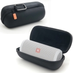 Portable EVA Bluetooth Speaker Protective Box Storage Bag for JBL Flip4 (Black)