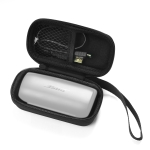 Portable Handheld Shockproof Bluetooth Headset Protective Box Storage Bag for Bose SoundSport Free (Black)