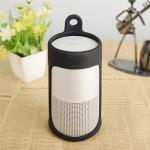 Portable Shockproof Silica Gel Bluetooth Speaker Protective Case for Bose Soundlink Revolve (Black)