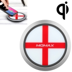 Momax England Pattern Creative Qi Standard Fast Charging Wireless Charger