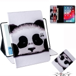 Panda Pattern Horizontal Flip Leather Case for  iPad Pro 11 inch (2018), with Holder & Card Slot & Wallet