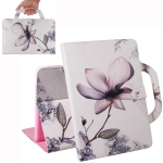 Magnolia Pattern Horizontal Flip Leather Case for iPad Pro 11 Inch (2018), with Holder & Card Slot & Wallet