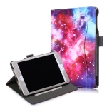 Cowhide Texture Galaxy Pattern Colored Drawing Horizontal Flip Leather Case for iPad Mini 2019 / Mini 4, with Holder & Sleep / Wake-up Function