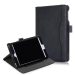 Cowhide Texture Horizontal Flip Leather Case for iPad Mini 2019 / Mini 4, with Holder & Sleep / Wake-up Function(Black)
