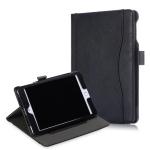 Cowhide Texture Horizontal Flip Leather Case for iPad Mini 2019 / Mini 4, with Holder & Sleep / Wake-up Function(Black)