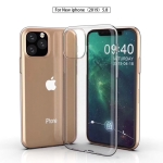 Shockproof TPU Protective Case for iPhone XI Max (Transparent)