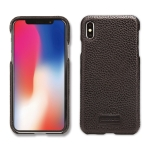 Pierre Cardin PCS-S05 Litchi Texture Shockproof Leather Protective Case for iPhone XS Max (Black)
