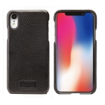 Pierre Cardin PCS-S05 Litchi Texture Shockproof Leather Protective Case for iPhone XR (Black)