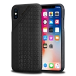 Pierre Cardin PCL-P29 Shockproof Leather Protective Case for iPhone X / XS, with Card Slot (Black)