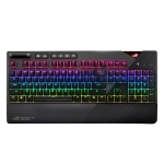 ASUS Strix Flare RGB Backlight Wired Mechanical Brown Switch Gaming Keyboard with Detachable Wrist Rest