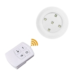 5W COB Night Light 5 LEDs Wall Lamp with Remote Control