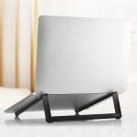 ROCK Mini Ultrathin Portable Foldable Design Laptop Bracket Stand (Black)