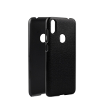 Oukitel Litchi Texture PC Protective Back Case for Oukitel C15 Pro (Black)