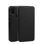 Oukitel Spring Texture Horizontal Flip Leather Case for Oukitel C15 Pro with Holder (Black)
