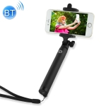 Pierre Cardin PCQ-E07 Portable Live Broadcast Mobile Phone Bluetooth Selfie Stick (Black)