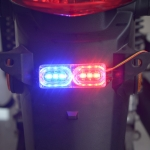 Motorcycle DC 9V-80V 2W Strobe Tail Light