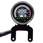 Universal Motorcycle Modified Multi-functional LED Digital Meter Indicator Light Tachometer Odometer Speedometer Oil Meter