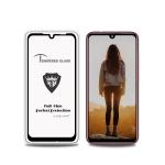 MIETUBL Full Screen Full Glue Anti-fingerprint Tempered Glass Film for Xiaomi Redmi Note 7S (Black)
