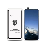 MIETUBL Full Screen Full Glue Anti-fingerprint Tempered Glass Film for Huawei P Smart Z (Black)