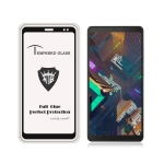 MIETUBL Full Screen Full Glue Anti-fingerprint Tempered Glass Film for Lenovo Tab V7 (Black)