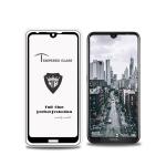 MIETUBL Full Screen Full Glue Anti-fingerprint Tempered Glass Film for Nokia 3.2 (Black)