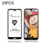 25 PCS MIETUBL Full Screen Full Glue Anti-fingerprint Tempered Glass Film for Nokia 4.2 (Black)