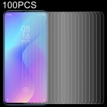100 PCS 0.26mm 9H 2.5D Tempered Glass Film for Xiaomi Redmi K20 / K20 Pro