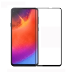 MOFI 9H 3D Explosion-proof Curved Screen Tempered Glass Film for Galaxy A60 (Black)