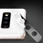 10D Full Coverage Mobile Phone Metal Rear Camera Lens Protection Cover for Samsung Galaxy S10+